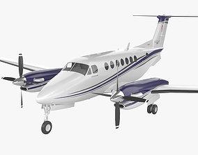 Beechcraft King Air 350i 3D