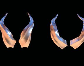 Devil horns for man head 3D printable model