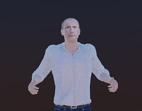 3D asset animated Vladimir Putin