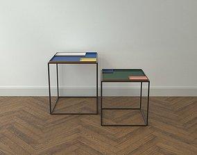 Design Side Table Fama 3D asset