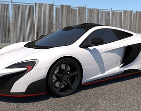 3D model McLaren GT