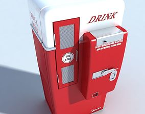 new 3D model Drink Automate New