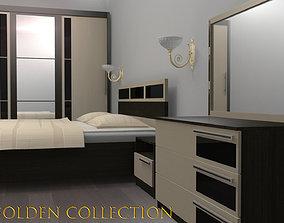 3D model realtime Furnitures Golden Collection