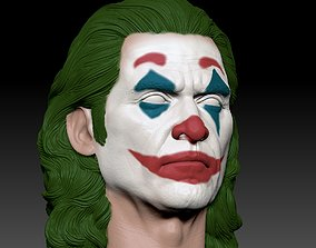 Joker Joaquin Phoenix head 3D printable model