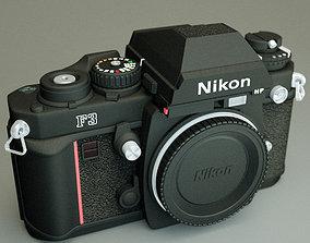 3D model Nikon F3 camera