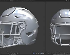 3D print model Football Helmet