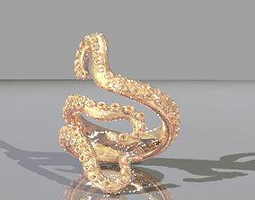 3D printable model octopus