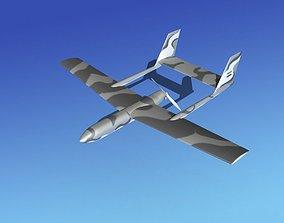 Mohajer 3 Drone V01 3D model