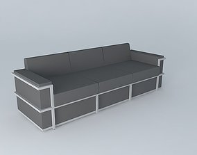 3D Sofa seat sofa