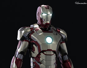 Iron man Mark 42 3d model VR / AR ready