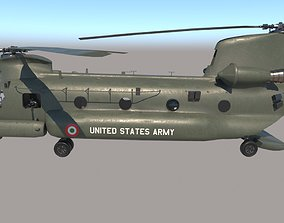 Chinook Helicopter 3D