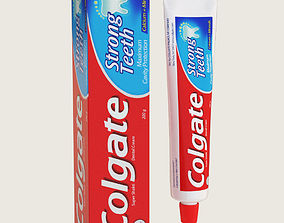Colgate Toothpaste Package 3D asset