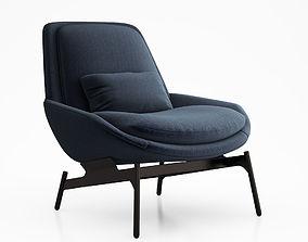 Field Lounge Chair by Blu Dot 3D model