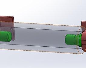 3D printable model Tissue Roller