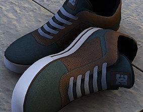 DC shoe C4D 16 3D model
