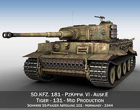 Panzer VI - Tiger - 131 - Mid 3D model