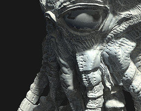 3D print model Martian from War of the worlds