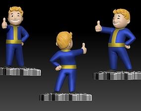 Vault Boy 3D Print