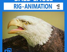 3D asset Bald Eagle v2 - Unity
