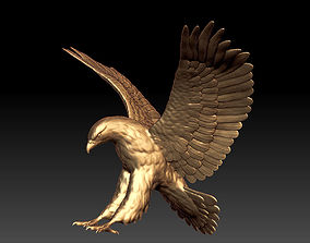3D print model eagle scupture