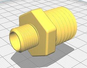 Threaded Union ASME 3D