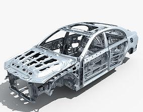3D model Car Frame 02