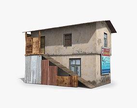 3D asset Slum c