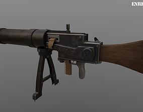3D SPANDAU MG-08 1916
