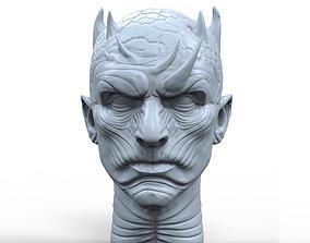 Night King 3D printable portrait sculpture
