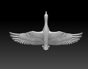 3D printable model goose