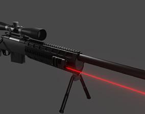3D Custom M24 Sniper Rifle combat
