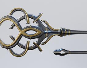 3D asset Magic Staff or Scepter