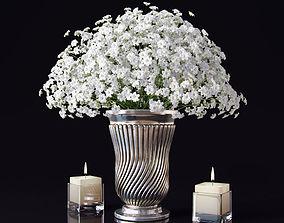 Bouquet of flowers 3 3D