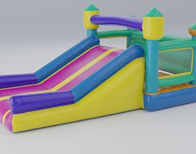 3D model Inflatable castle shape
