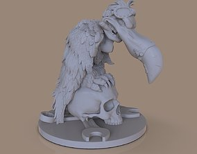 Figurines stylized vulture 3D print model