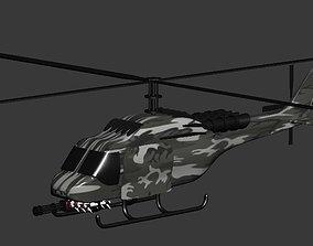 3D print model War Helicopter