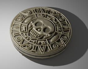 3D printable model Pirates of the carribean medallion
