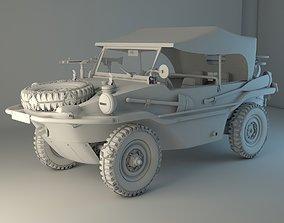 Volkswagen type 166 Schwimmwagen military edition 3D