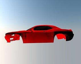 3D print model Dodge Challenger SRT-8
