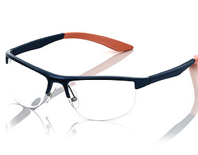 Eyeglasses for Men and Women 3D print model eye vision