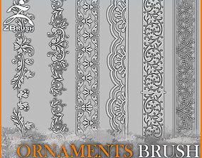 3D model Ornaments Brush for ZBrush