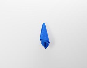 Free Realistic Towel 3D Model