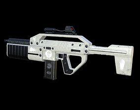 skifi 3D Sci fi machine gun