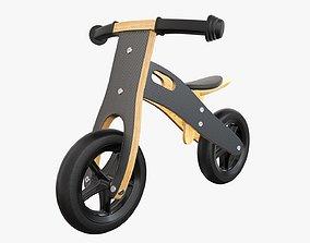 3D Balance bike for kids wooden