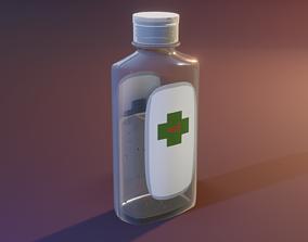 Little Hand Sanitizer 3D asset VR / AR ready