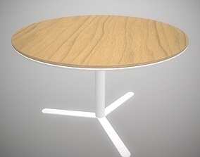 3D asset Viccarbe Aspa Table Low poly