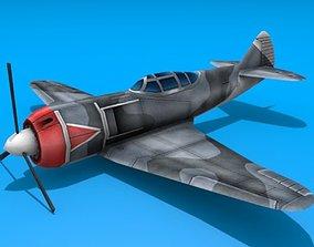 Lavochkin LA-5 3D asset