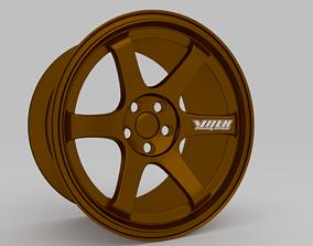 3D model Volk TE37 Saga