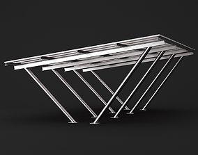 3D model Metall carport 2