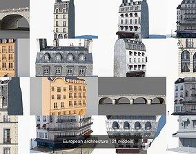 3D European architecture
